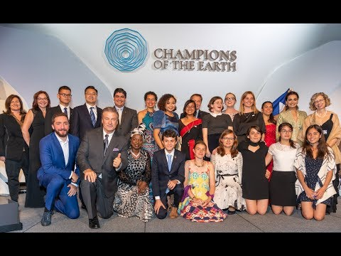 Earth Champions celebrates winners of UNEP's Champions of the Earth 2019 awards
