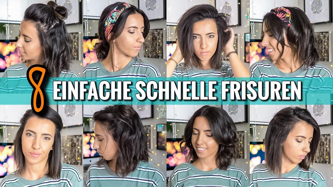 12 EINFACHE & SCHNELLE FRISUREN für den Alltag  OHNE FLECHTEN  Geeignet  für kurze Haare