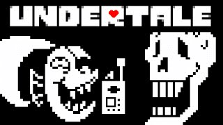 Undertale - All Papyrus w/ Undyne Phone Calls