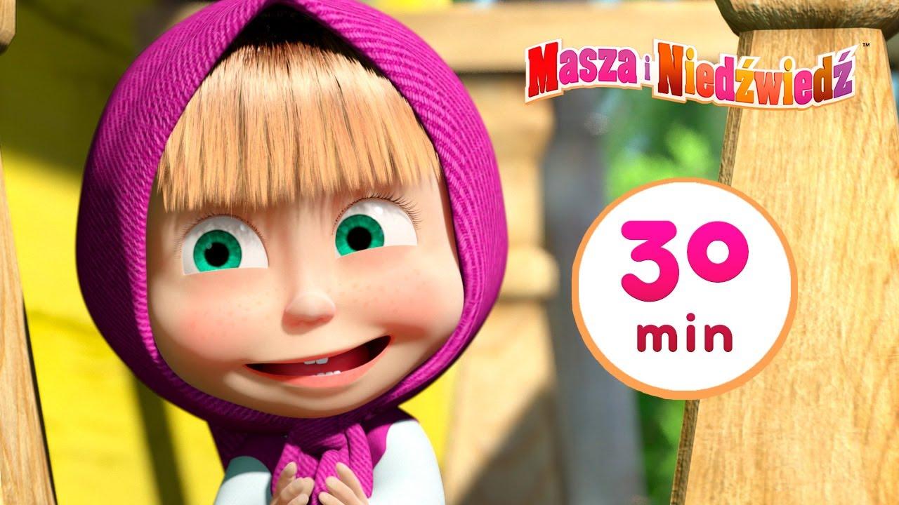 Masza i Niedźwiedź 🐼 Daleki krewny 🐼 Kolekcja 28 ⏱ 30 min 👱♀️ Masha and the Bear