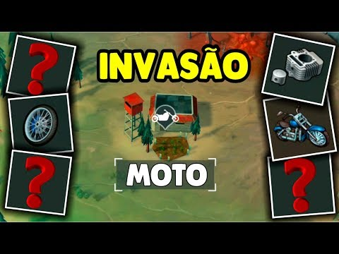 Invasion with MOTO Parts and Great Items - Last Day On Earth