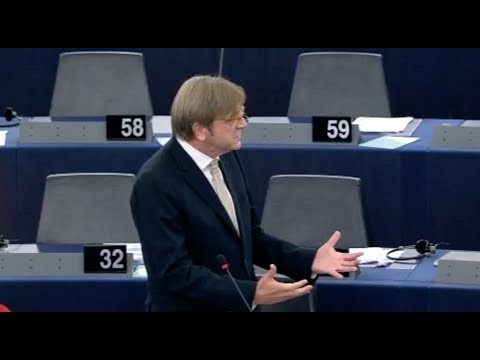 Guy Verhofstadt 11 Sep 2018 plenary speech on situation in Hungary