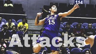 Top 15 Volleyball Attack |Men's Volleyball| Ph