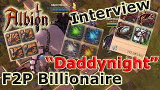 F2P to Billionaire in 3 month | Interview with Daddynight | Albion Online