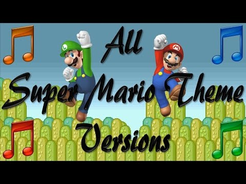Evolution of the Super Mario Theme
