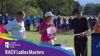 RACV Ladies Masters 2015 - Final Round - Ladies European Tour