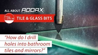 How to drill holes into bathroom mirrors and tiles - TIMco How To Tuesday.