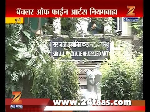 Pune | RTI Report Shows Sir JJ School Of Fine Arts Dont Have Permission To Conduct Course