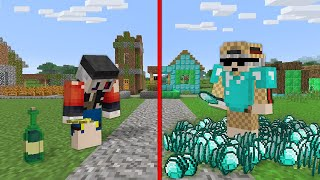 1$ FAKİR THEMURAT VS 1000$ ZENGİN THEMURAT - Minecraft