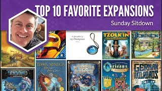 My Top 10 Favorite Expansions to Tabletop Games