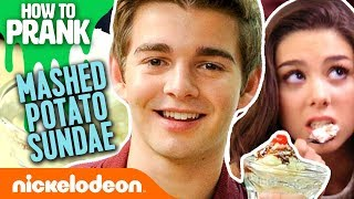 How to Prank | Jack Griffo Makes a Mashed Potato Sundae | Nick