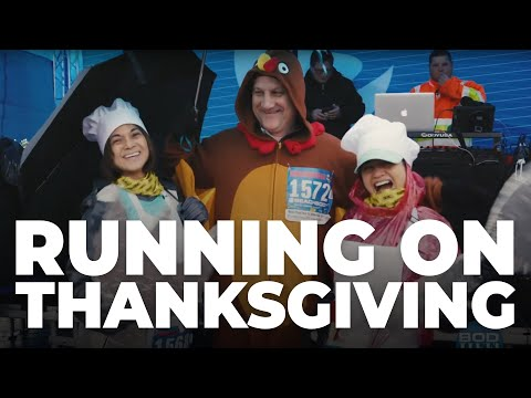 Running For A Cause On Thanksgiving