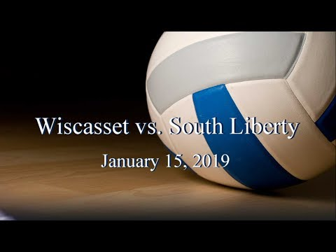 2019 Wiscasset Christian Volleyball vs South Liberty