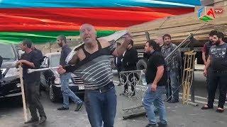 Столкновения с инвалидами Карабахской войны