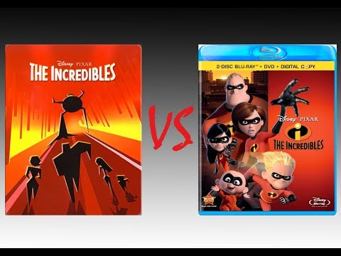 ▶ Comparison of The Incredibles 4K HDR10 vs The Incredibles 2011 Blu-Ray Edition