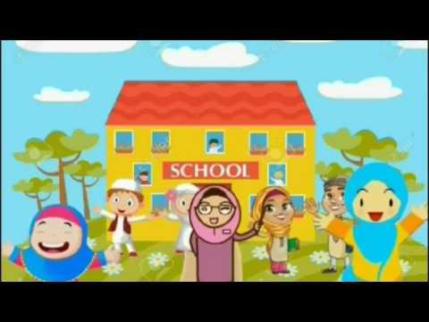 Film Kartun Anak Muslim Mendidik Suara Lonceng Sekolah Youtube