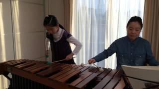 杉本瑛のマリンバ演奏・天国と地獄 天国と地獄 検索動画 50
