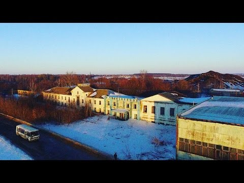 Город-призрак Метеоприбор с высоты   Тульская область