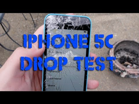 iphone drop test iphone 5c durability drop test 11808