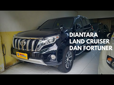 Toyota Land Cruiser Prado J150 TX-L 1st Facelift 2014 Tour Review Indonesia