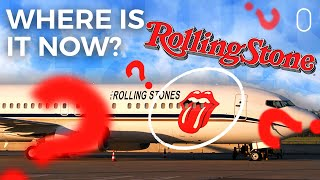 What Happened To The Rolling Stones Boeing 737