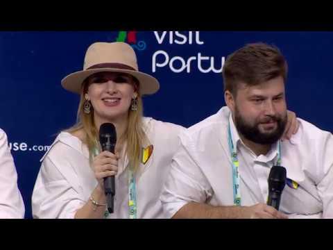 The Humans | Roménia | Press Conference | Eurovisão 2018