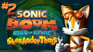Sonic Boom: THIS GAME IS SO BAD IT MADE A NEW WORD! - Part 2 - Shenanderthals