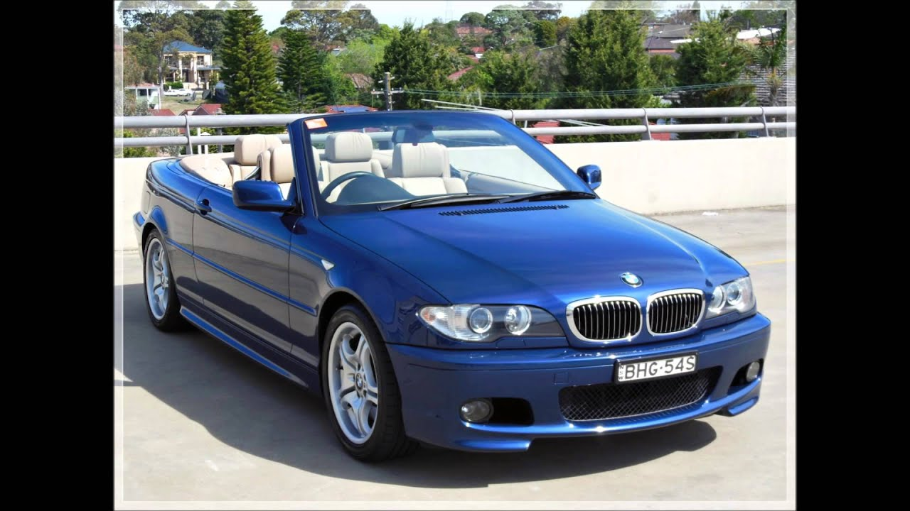 BMW 330Ci M Sport Convertible for $29990 - YouTube