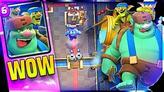GOBLIN GIANT Gameplay - CLASH ROYALE UPDATE - MOLT