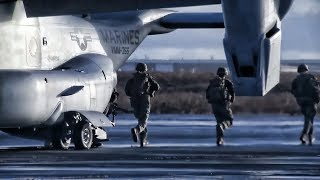 Marines In Iceland To Secure Airfield • Trident Juncture 18
