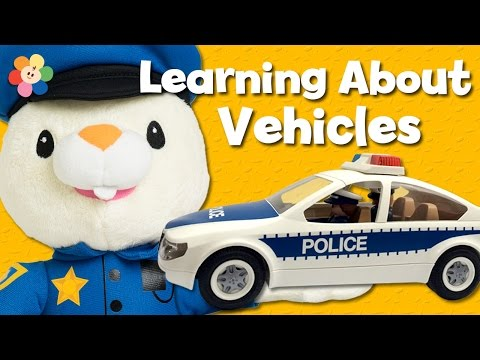 Unboxing Toy Cars for Kids | Police Car | Cartoons for Kids | Learning Cars for Children