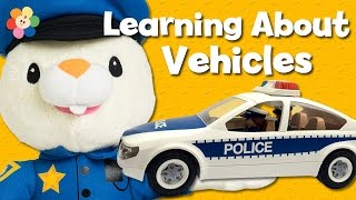 Unboxing Toy Cars for Kids | Police Car | Cartoons for Kids | Learning Cars for Children babyfirsttv