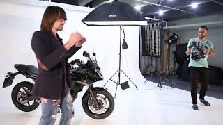 МК Предметная съемка. Часть #2. Практика - съемка мотоцикла и бутылок.
