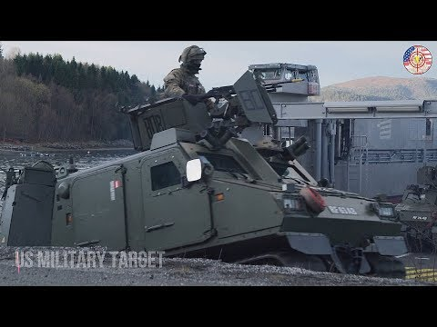 Awesome Footage of Royal Navy (UK) force amphibious assault I Trident Juncture 2018