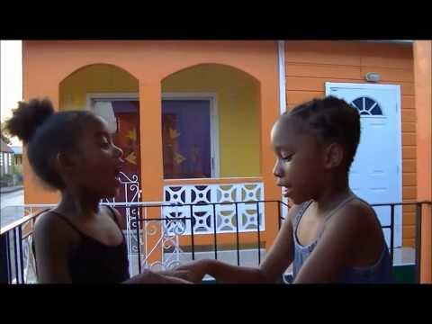 BAJAN & TRINI accent with the kids