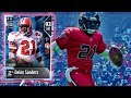 WR Deion Sanders H2H Showcase! Madden NFL 18 Gameplay