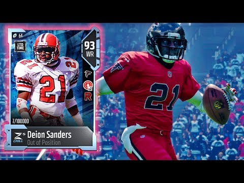 wr-deion-sanders-h2h-showcase!-madden-nfl-18-gameplay