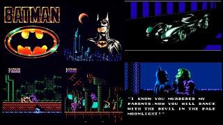 Batman - Video Game (NES) на денди полное прохождение на русском языке