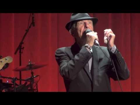 Leonard Cohen, So long Marianne, Dublin 11-09-2013