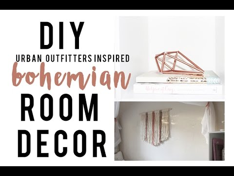 DIY Boho Room Decor | Urban Outfitters Inspired