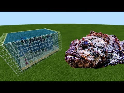 MCPE: How To Make A STONEFISH FARM