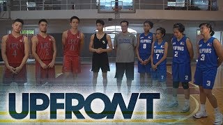 NCAA UPFRONT: Ricci Rivero teams up with the LPU Pirates versus Women's 3x3 RP Team on Baller Moves