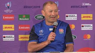Rugby World Cup | England press conference