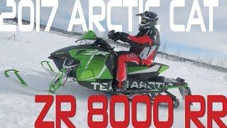 STV 2017 Arctic Cat ZR 8000 RR