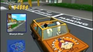 Canyonero - Thanksgiving Marge - Downtown (The Simpsons Road Rage Gameplay Part 138)