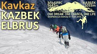 Ekspedicija Kavkaz 2016 - Kazbek 5033 i Elbrus 5642