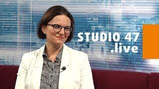 STUDIO 47 .live   STADTKÄMMERIN PROF. DR. DÖRTE DIEMERT ÜBER DEN HAUSHALTSPLAN 2019 FÜR DUISBURG