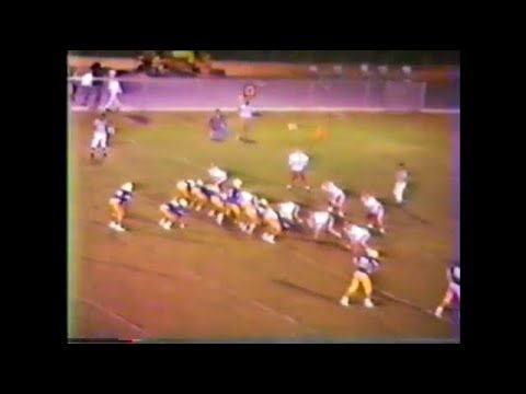 1989 Edmund Burke Academy Spartans at Tattnall Square Trojans (football)