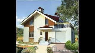видео Проекты домов и коттеджей с гаражом