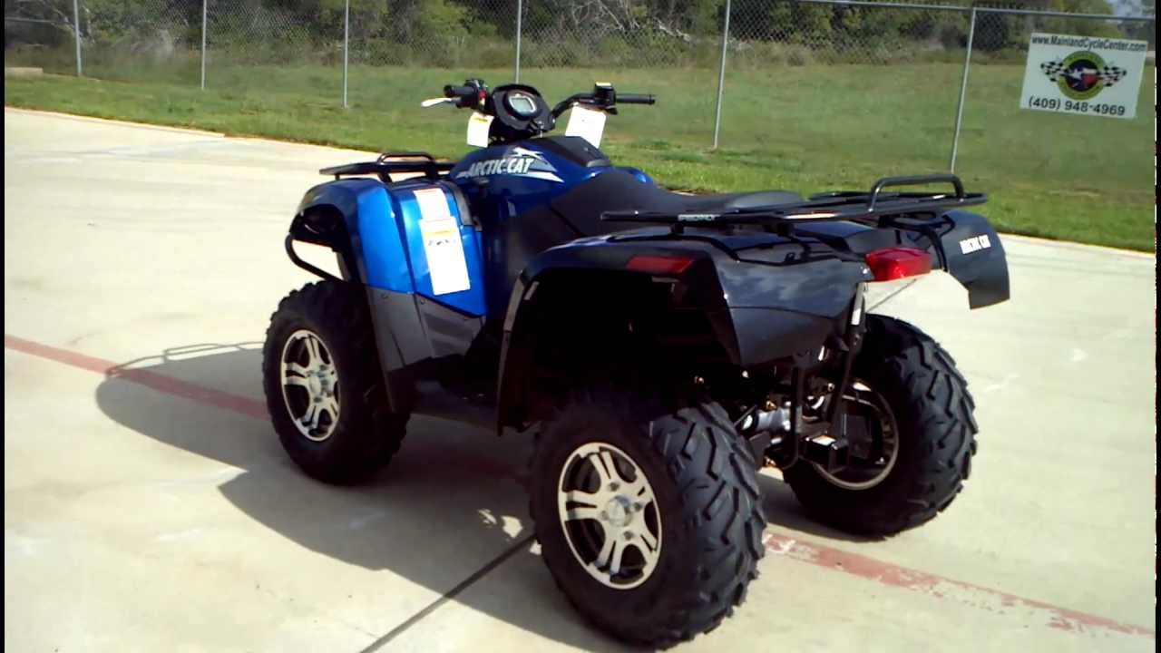 review 2012 arctic cat 700 i gt in viper blue youtube. Black Bedroom Furniture Sets. Home Design Ideas